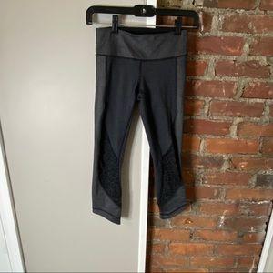 Lululemon cropped printed leggings 2
